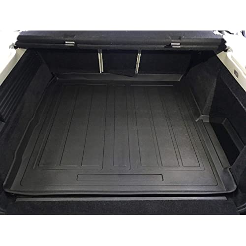 Rear Trunk Liner Tray Mat Pad for BMW 7-Series G11 G12 2016 2017 2018 2019 2020 Floor Cargo Cover Protection Dirt Mud Snow All Weather Season Waterproof WaterResistant 3d Laser Measured Custom Fit